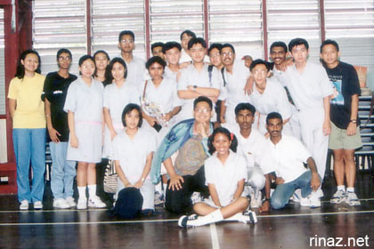 Orientation Days. Try to find me! :)