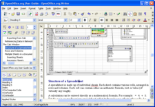 pic of the writer software from sun microsystem