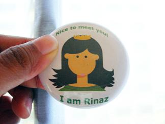 My rinaz badge!