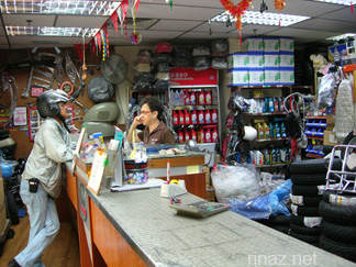 pic of the front counter of Tong Aik