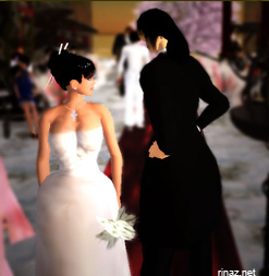 A wedding in Secondlife