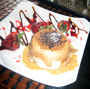 Pic of the Ice Cream Bombe Dessert