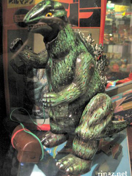 Woah its Godzilla man! - Museum of shanghai Toys
