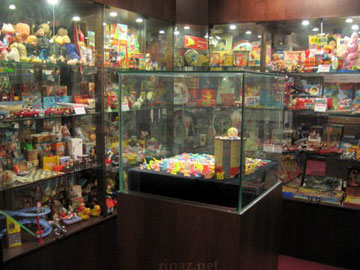 Overview of the display - Museum of shanghai Toys