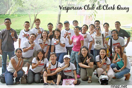 Vespa Club Members at the Big Bike Fest