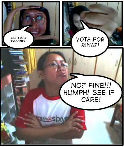 Vote for Rinaz