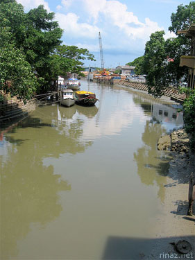 The Malaccan river