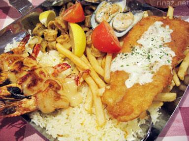 Manhattan Seafood Platter