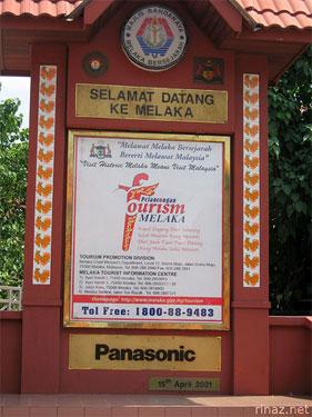 Welcome to Malacca