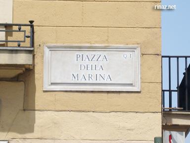 Marina building in Rome, Italy