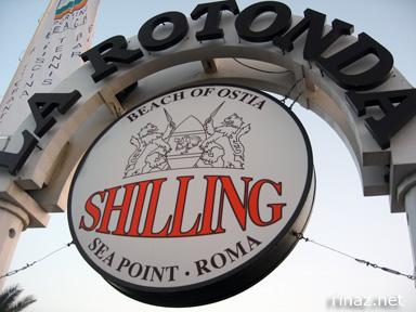 Rotonda Restaurant in Ostia, Italy