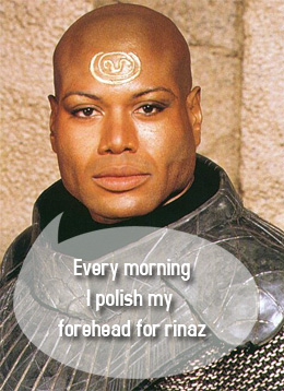 Teal'C in Stargate