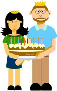 Rinaz Birthday Cake