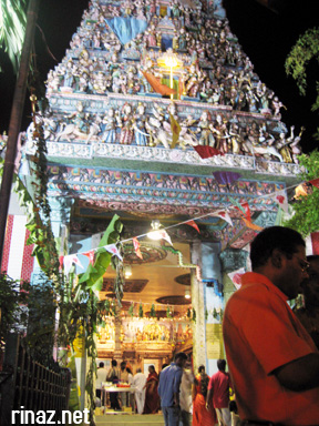 Sri Veeramakaliamman Temple in Little India