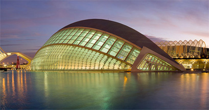 The City of Arts, Valencia