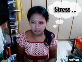 rinaz muka stress