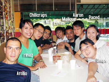 Ping.sg at Island Creamery