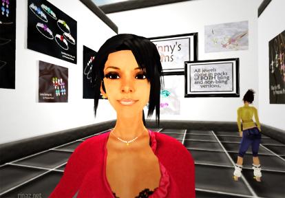 Rinaz Bijoux wearing a Princessia Petunia jewellery