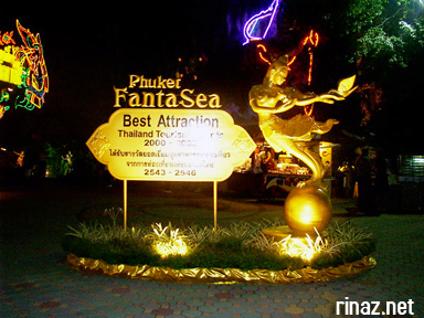Rinaz Juli and Hema at Phuket Fantasea, Thailand