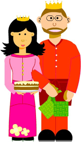 Selamat Hari Raya from Cart and Rinaz!