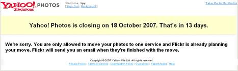 Yahoo Closing