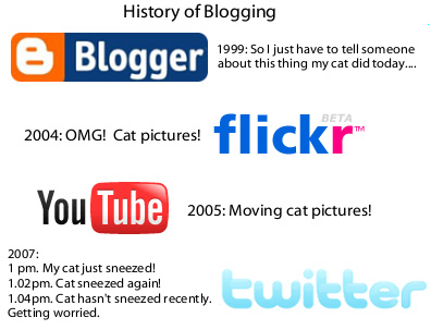 Evolution of blog