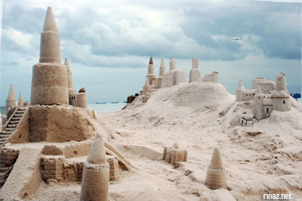 East Coast Park - Sand Castle