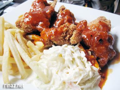 Chicken Cutlet, Mega Bites Cafe - NUS, Singapore
