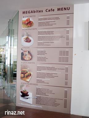 Mega Bites Cafe - NUS, Singapore