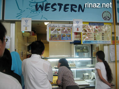 Western Food at NIE