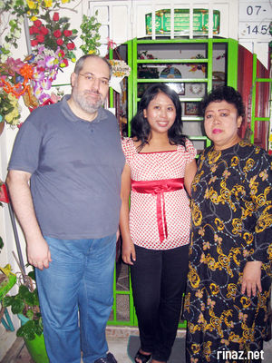 cart, rinaz and mak oteh