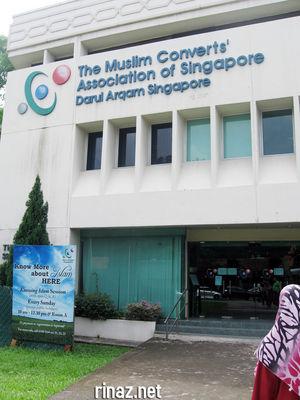 Darul Arqam, Singapore