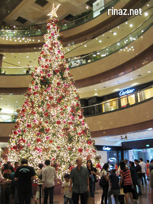 Christmas Tree at Ngee Ann City
