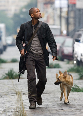 Will Smith in I am legend