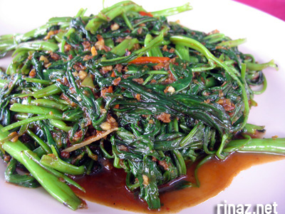 Fried Kangkong