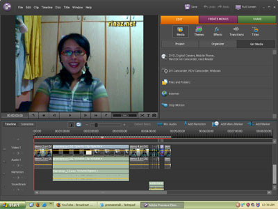 Rinaz in Adobe Premiere Elements 4