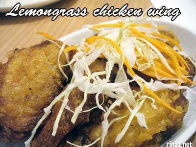 Lemongrass chicken wing - Siam Kitchen - Jurong Point