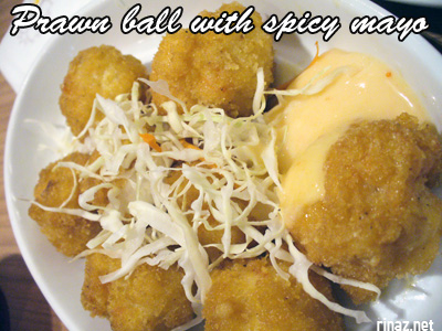Prawn ball with spicy mayonaise - Siam Kitchen - Jurong Point
