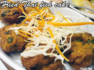 Fried Thai fish cake - Siam Kitchen - Jurong Point