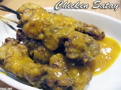 Chicken Satay - Siam Kitchen - Jurong Point