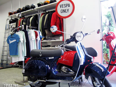 Vespa Showroom, Singapore