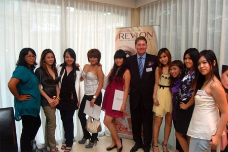 Bloggers at Revlon