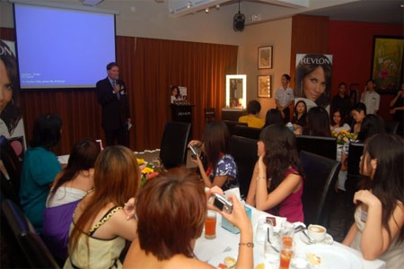 Bloggers and Media at Revlon ColorStay Mineral Collection Launch