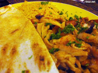 Shawarma Plate at El Sheikh