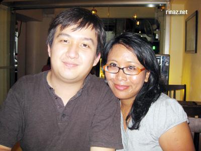 DK and Rinaz at El Sheikh