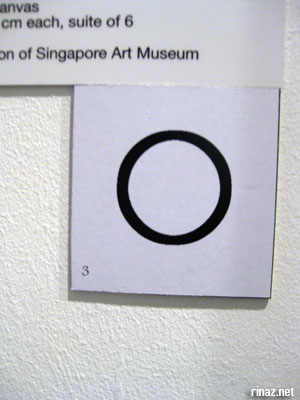 One of the symbols at the Singapore Art Museum