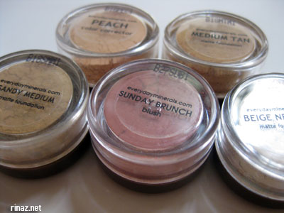 Everyday Minerals Sample Kit