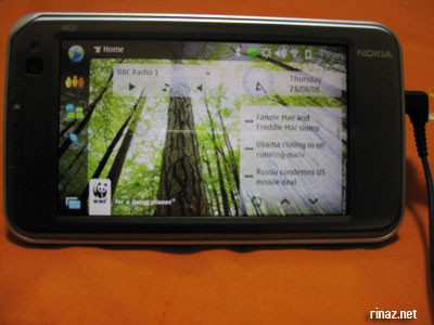 Nokia N810 Internet Tablet Reviewed by Rinaz