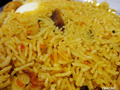 Mutton Dum Biriyani at Anjappar Chettinad Restaurant