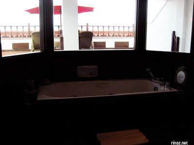 Jacuzzi in Suite at Bintan Lagoon resort